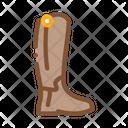 Jockey Shoes Equestrian Icon