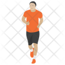 Jogging Running Exercise Runner Icon