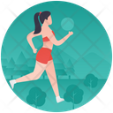 Running Jogging Workout Icon