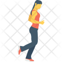 Jogging Running Walking Icon