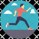Runner Running Fast Icon