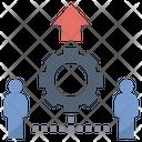 Joint Venture Teamwork Icon