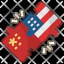 Jointventure China Usa Icon