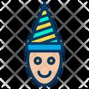 Bozo Clown Funny Icon