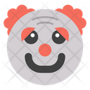 Joker Face Clawn Emoji Icon