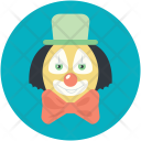Joker Funny Circus Icon