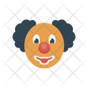 Clown Jester Face Icon