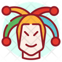 Buffoon Joker Jester Icon