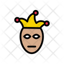 Clown Joker Festival Icon