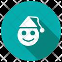 Joker Christmas Clown Icon