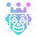 Laughing Comedy Clown Icon