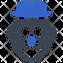 Carnival Clown Joker Icon