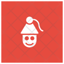 Joker Christmas Santa Icon