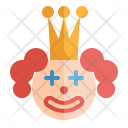 Clown Smile Happy Icon