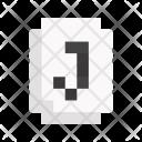 Joker Card Game Icon
