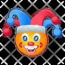Clown Face Joker Face Comedian Icon