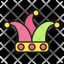 Carnival Joker Hat Icon