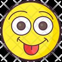 Jolly Emoji Jolly Expression Emotag Icon