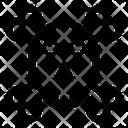 Jolly Roger Danger Crossbones Icon