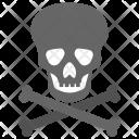 Jolly Roger Skull Icon