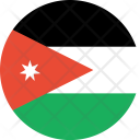 Jordan Flag World Icon