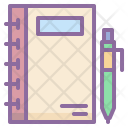 Jotter Notepad Scratch Icon