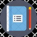 Notebook Diary Pen Icon