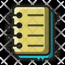 Spiral Bound Jotter Note Icon