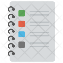 Jotter Diary Notebook Icon