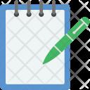 Jotter Pencil Diary Icon