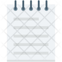 Jotter Notebook Notepad Icon