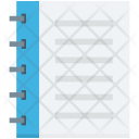 Jotter Memo Book Icon