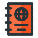 Journal Visa Important Document Icon