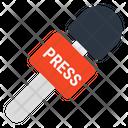 Press Mic Journalist Mic Microphone Icon
