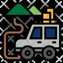 Journey Travel Ride Icon