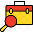 Journey Luggage Luggage Search Icon