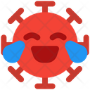 Joy Coronavirus Emoji Coronavirus Icon