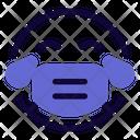 Joy Emoji With Face Mask Emoji Icon