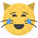 Joy Cat Face Icon