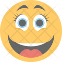 Laughing Happy Joyful Icon