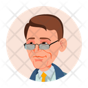 Business Face Icon Icon