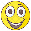 Joyful Emoji Joyful Expression Emotag Icon