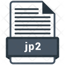 Jp 2 File Formats Icon