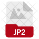 Jp 2 File Format Icon