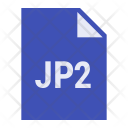 Jp2 file Icon
