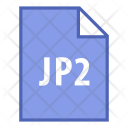Jp 2 File Extension Icon