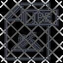Jpe Jpe Jpeg Icon