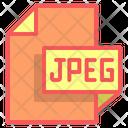 Jpeg File Format File Icon