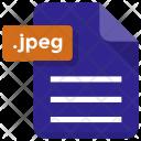 Jpeg File Sheet Icon