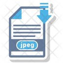 Jpeg file format Icon